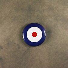 """Vintage Style  RAF Roundel Fridge Magnet  1""""  WW2 Spitfire London MOD SKA 1960's"""