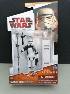 Star wars legacy collection Sandtrooper Action Figure saga legends