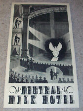 JEFF MANGUM SIGNED NEUTRAL MILK HOTEL CONCERT POSTER w/EXACT PROOF AUTOGRAPH