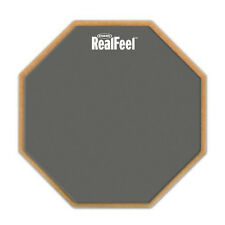 RealFeel by Evans 2-Sided Practice Pad, 6 Inch Gum rubber, neoprene surface drum