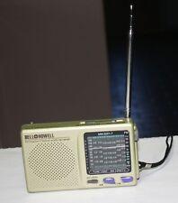 Vintage Bell & Howell 9 Band World Shortwave Receiver Transistor Radio MW/SW1-7