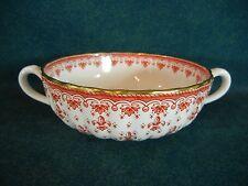 Spode Fleur de Lys Red Y7481 Cream Soup Bowl(s)