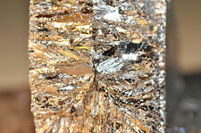 Bismuth metal Ingot,chunk sold by the pound 99.99% pure element-crystals-fishing