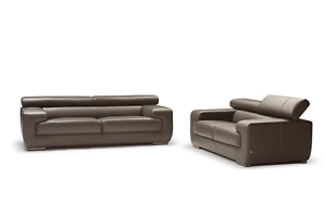 DIV-Grace Leather Sofa by Nicoletti (Italy) by matisseco