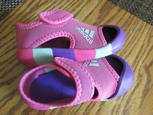 Adidas D97198  Alta Venture Pink Multi  Sandals Toddler Girl Size 6  NEW