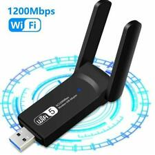 Wireless USB 3.0 1200M 5GHz Long Range Dual Band Wifi Adapter Dongle Access