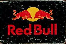 "Retro Blechschild Vintage Nostalgie look 20x30cm ""Red Bull"" neu"