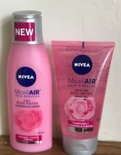 micellair cleaner & toner 200ml + rose water gel