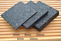 100 Stück 3mm Terrassenpad Terrassenpads Gummigranulat Bautenschutzpads, Pads