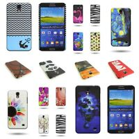 Design Hard Phone Cover Snap on Plastic Shell Case for Samsung Galaxy Mega 2
