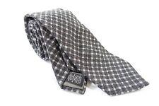 Todd Snyder New York USA à Carreaux Gris 7.6cm Largeur 100% Laine Cravate Hommes