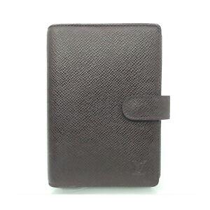 Louis Vuitton LV Diary Cover Agenda PMR20434 Other Brown Taiga 2402473