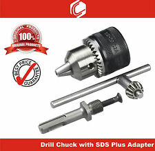 Drill Chuck 1.5-13mm 1/2-20UNF thread with SDS Plus adapter- for Rotary Hammer