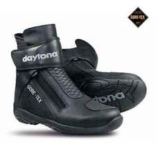 Bottes noirs Daytona GORE-TEX pour motocyclette