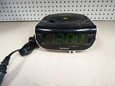 Sony Dream Machine CD Alarm Clock Radio ICF-CD815 Dual Alarms Aux In Jack Phone