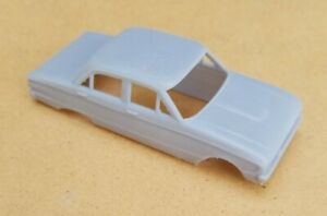 ECONOMY FINISH 3D PRINTED 1/43 1960 FORD FALCON 4-DOOR BODY. SLOT CAR