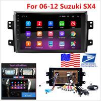 "For 06-12 Suzuki SX4 9"" Android 9.1 1+16GB Car Stereo Radio GPS Nav WIFI Player"