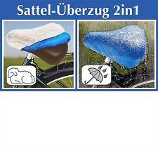 Fahrrad Satteldecke Regenschutz Bezug Sattelüberzug Fahrradsattelbezug Sattel