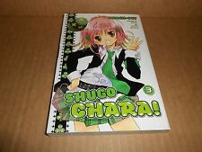 Shugo Chara!  Vol. 3 Del Rey Manga Graphic Novel Book in English