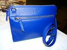 DKNY CONVERTIBLE NY BOROUGH BAG  CROSSBODY / CLUTCH HEAVY NAPPA LEATHER MSRP 200