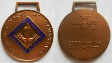 medaglia 20° anniv. avis cortemaggiore 1973 medici donatori sangue