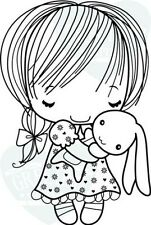 SNUGGLE-The Greeting Farm Cling Rubber Stamp-Stamping Craft-Hope & Grace-RETIRED