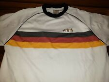 Vtg Germany National Team Home Football Soccer Shirt Jersey Trikot Men L