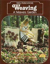 Weaving A Weavers Garden Barbara Papernick Vintage Flatloom Pattern Book New