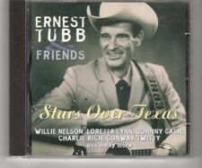 (HQ94) Ernest Tubb & Friends, Stars Over Texas - 1997 CD