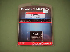 New Delkin Camera Battery for Casio NP-70 NP70C