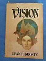The Vision by Dean Koontz 1977 1st  BCE BOMC Edition Printing Hardcover DJ Book