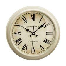 Premier Housewares 36cm Dia Clay Vermont Traditional Design Kitchen Wall Clock