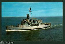 USS Burton ISLA agb-1 Tarjeta Postal NOS Marina Viento CLASE ICE BREAKER