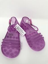 Baby Gap Girls Jelly Sandals Size 6 Violet Pink Beach Flats
