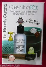 The Brush Guard Cleaning Kit for make-up brushes  UPC 857108003002