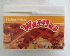 Fisher Price Play Food Waffles Box Toy