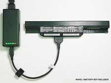 External Laptop Battery Charger for ASUS K43 K53 X43 X53 X54, A32-K53, A41-K53