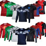 Superhero Costume Mens Quick Dry Casual T-shirt Top Spiderman Batman Sport Shirt