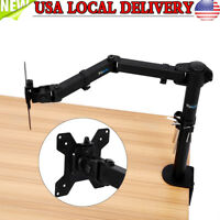 "Computer Monitor Desk Mount Stand Swivel Adjustable Arm for LED / LCD 13"" to 27"""