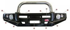 MCC SINGLE LOOP STAINLESS STEEL BULLBAR 707-01SFP MITSUBISHI PAJERO NS-NW 06-15