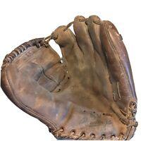 "Rawlings Mickey Mantle Baseball Glove BGM 1960's 11"" L Heel Hinged Pad Vtg RHT"
