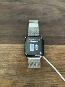 Apple I Watch Series 4, 44mm Stainless Steel, Space Grey!!!