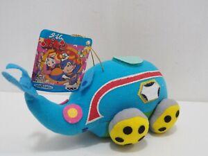 "Time Bokan Yatterman Mekabudon Banpresto 1993 Plush 7"" TAG Toy Doll japan"