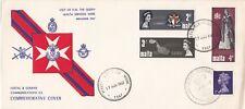 Rare 1967 BFPS 1000 & Visit of H.M. The Queen  Malta Services Week- 17 Nov 67 -