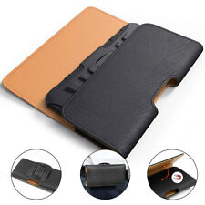 Galaxy S10 S10+ Plus S10e Leather Holster Pouch Belt Clip Case For Samsung