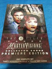 X-Files Mastervisions Trading Cards Box Set - 1995 Topps - Factory sealed