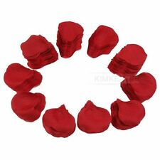 1000 x Red Rose Petals Silk Wedding Flowers Party