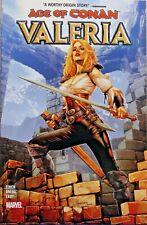 New Marvel Graphic Novel. Age of Conan. Valeria. Finch, Aneke, Troy. Pb