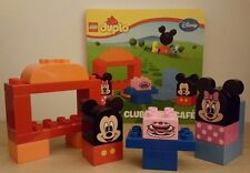 LEGO DUPLO Mickey & Minnie Mouse Clubhouse Cafe Building Set 10579