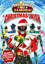 Power Rangers Super Samurai: A Christmas Wish (DVD, 2013)